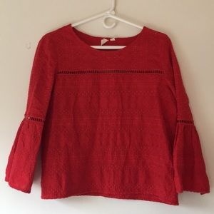 Gap Eyelet Blouse